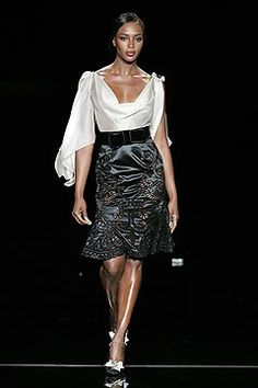 Valentino Spring 2005 Couture Fashion Show - _Wembley Rocks!_