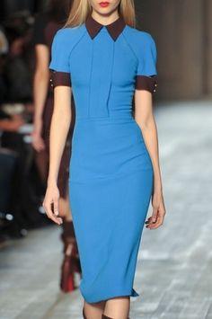 Victoria Beckham F/W 2012, New York Fashion Week