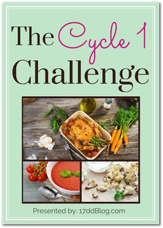 Join the best weight loss challenge ever! The next Cycle 1 17 Day Diet Challenge starts July 6th! Get free meal plans, recipes and grocery lists! Come join us! http://17ddblog.com/c1-challenge-2015/