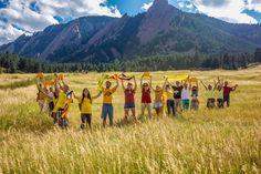 International V in Boulder (Rocky Mountains USA)  supports the V in Barcelona, 11th September 2014   .IMG_5425-1024x682.jpg 1.024×682 píxels