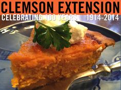 For tips on how to get a head start on cakes, cookies, and pies, visit Clemson's Home & Garden Information Center. #ClemsonExt100