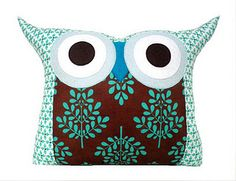 lovely owl cushion