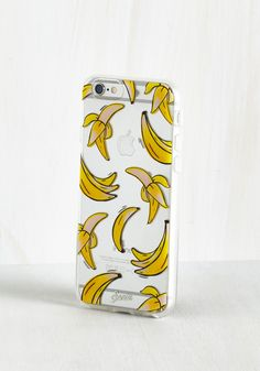 Maximum Potassium iPhone 6 Case. Attach this banana printed iPhone case by Sonix to your cell, and your unique tastes will come in loud and clear! #yellow #modcloth