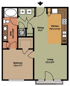 View floor plans, photos, and community amenities. Condo Floor Plans, Pool House Plans, Cabin House Plans, Small Floor Plans, Cottage Floor Plans, Bedroom Floor Plans, Cottage Plan, Craftsman House Plans, Cottage House