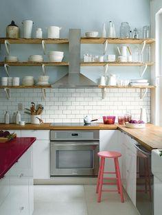 Peinture: quelle couleur choisir pour agrandir la cuisine? - Coup de Pouce