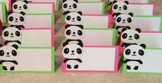 Girl Panda Happy Birthday banner by armywife711 on Etsy, $20.00