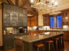 Take a tour of six gourmet kitchens sure to satisfy a wide range of design tastes.