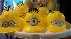 Dispicable me party..party hats