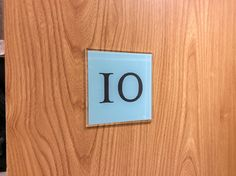 #Number #10 door numbers for #hotel #apartment #flat #house www.de-signage.com