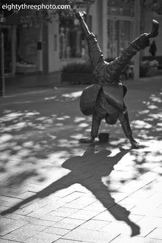 statue Perth Hay Street Mall