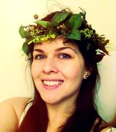 Hair Accessories Green Forest flower crown by AmoreBride on Etsy, $41.00
