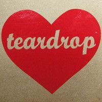 Teardrop Heart Vinyl Logo