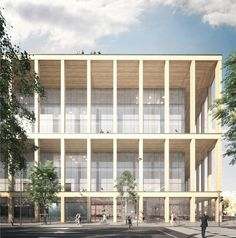 LAN . office building . Aubervilliers  (1)