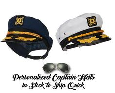 Bristol Novelty Fancy Party Headwear Deluxe Nautical Navy Pilot Yacht Boat Sailors Captain Hat