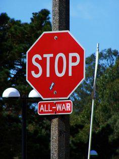 stop all war