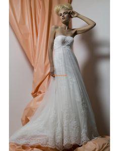 Kirche 3/4 Arm Reißverschluss Brautkleider 2014