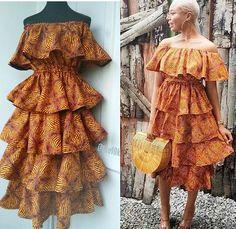 Ankara Dress Styles, African Fashion Ankara, Latest African Fashion Dresses, African Dresses For Women, African Print Dresses, African Print Fashion, Africa Fashion, African Inspired Fashion, African Attire