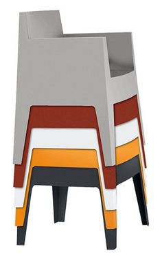 Toy by philippe starck stackable armchair polypropylene for Topdeq design
