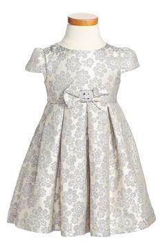 Luli & Me Floral Jacquard Dress (Toddler Girls, Little Girls & Big Girls) available at #Nordstrom