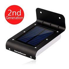 InnoGear® 16 LED Super Bright Waterproof Solar Powered Light Motion Sensor Outdoor Garden Patio Path Wall Mount Gutter Fence Security Lamp Light (Black) InnoGear http://www.amazon.com/dp/B00NBMO1CM/ref=cm_sw_r_pi_dp_IaLKub1DRF203