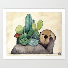 otter-man-prints.jpg (550×550)