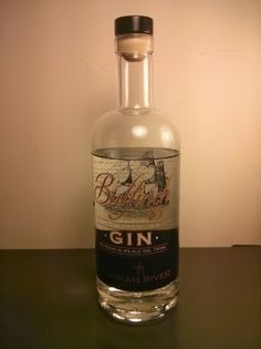 Bulfinch 83 gin bottle