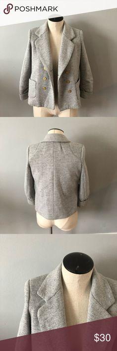 Anthropology Cartonnier Blazer Anthropology Cartonnier Blazer Light Grey Size XS Anthropologie Jackets & Coats Blazers