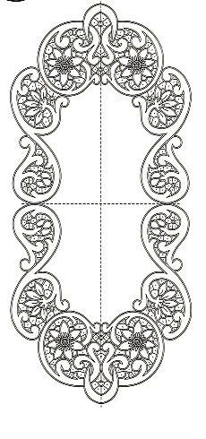 This Pin was discovered by Inn Cutwork Embroidery, Embroidery Patterns, Machine Embroidery, Stencil Patterns, Craft Patterns, Romanian Lace, Lace Painting, Crochet Motifs, Point Lace
