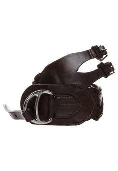 Lauren Ralph Lauren Cinturón Trenzado Brown cinturones trenzado Ralph  Lauren cinturón brown Noe.Moda 83b244bd2142