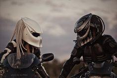 Predator motorcycle helmets by Шлем Хищник #predator