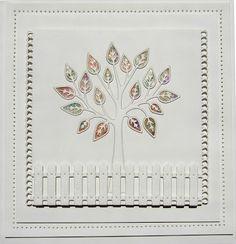 Hi crafters! Today's video uses the Family Tree die for an almost all white card. The Pixie Powders provide a beautiful pop of colou.... 27/12/2016