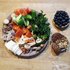 Diet Recipes, Healthy Recipes, Healthy Foods, Korean Diet, Health Diet, Flat Belly, Ketogenic Diet, Brunch, Salad