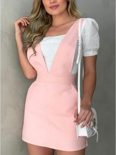 Pretty Prom Dresses, Cute Dresses, Beautiful Dresses, Casual Dresses, Summer Dresses, Casual Fall Outfits, Classy Outfits, Girl Outfits, Cute Outfits