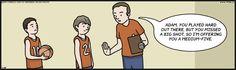 F Minus comic for Jan/28/14