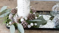 DIY : Christmas advent decoration  by Søstrene Grene
