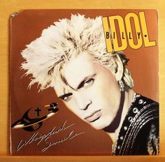 BILLY IDOL Whiplash Smile Vinyl LP To be a Lover Sweet Sixteen Bayond Belief RAR