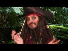 DIY - Jack Sparrow Makeup Tutorial #Halloween #Pirate