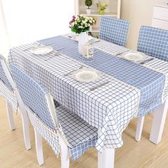 European modern table cloth,simple rectangular rural tea table cloth-B - Her Crochet Furniture, Home Textile, Sofa Covers, Home Decor, Chair Covers, Table Linens, Kitchen Table Chairs, Dining Table Chairs, Table Covers
