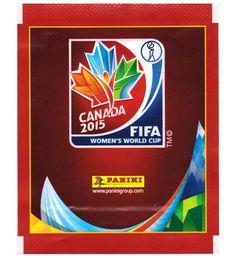 Panini Frauen WM 2015 Sticker-Tüte, Stickerpoint Fifa Women's World Cup, Sticker, Canada, Album, Decals, Decal, Card Book