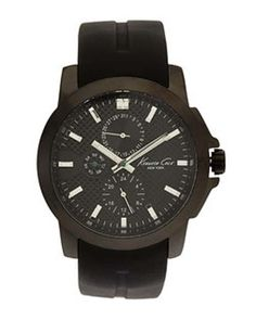 Kenneth Cole Male Casual Watch  KC8022 Black Analog Sale price. $69.95