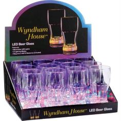 Wyndam House 12pc 10oz Led Cups In Countertop Display
