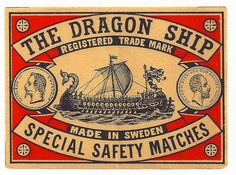 Dragon Ship vintage Matchbox | Flickr - Photo Sharing!