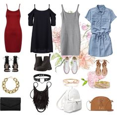 A fashion look from September 2016 by shalittlewolf featuring Gap, Zimmermann, Dr. Martens, Converse, Vince Camuto, 7 Chi, LULUS, Kenneth Jay Lane and Torrid