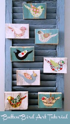 Button Bird Designs 9 easy Christmas gift tutorials