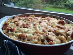 Makaronikalas Macaroni And Cheese, Bacon, Pasta, Ethnic Recipes, Food, Mac And Cheese, Eten, Noodles, Meals