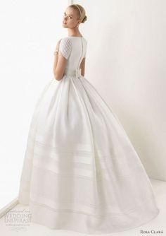 Gloomy Rosa Clara: 35+ Beautiful Wedding Dresses Collection  https://oosile.com/rosa-clara-35-beautiful-wedding-dresses-collection-8871