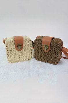 Sweet Straw Shoulder Bags OASAP.com