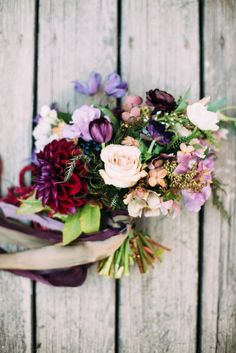 Fun hued bouquet: ht
