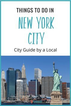 City Guide - Tips for New York City from a local New Yorker on where to eat, drink, sleep, shop, explore and much more in NYC!