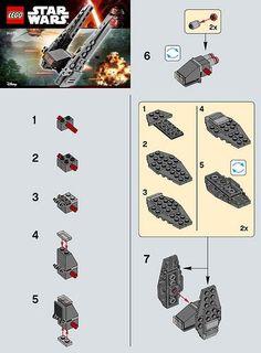 LEGO Star Wars: The Force Awakens Kylo Ren's Command Shuttle (30279)